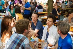 Summer Beergarden Social: photos by Daniel Plappert