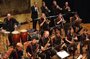 Big Band at the Lions Ball: photo by Heather Gentemann