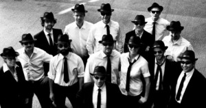 The Big Band in their Blues Brothers look: photo by Celticon Photography