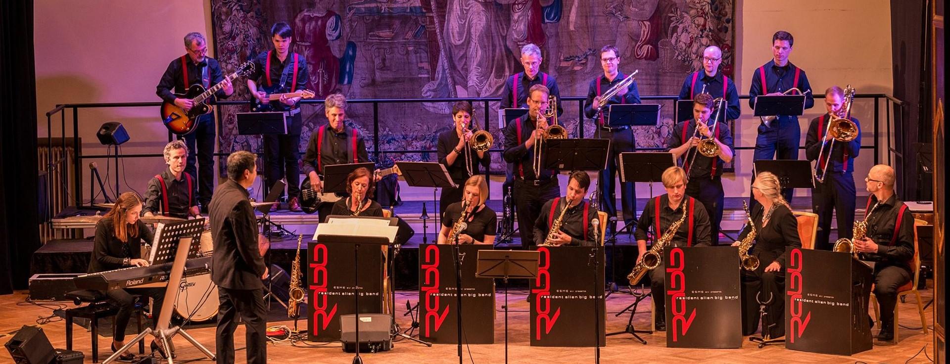 Big Band at Künstlerhaus by Jorge Benitez